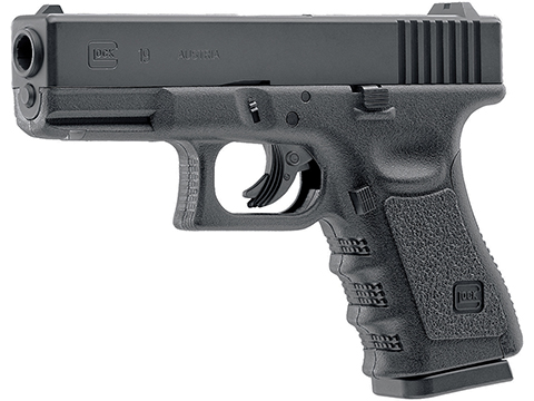 Umarex GLOCK G19 Gen 3 Full Size CO2 Powered Airgun (.177 Cal Air Gun)