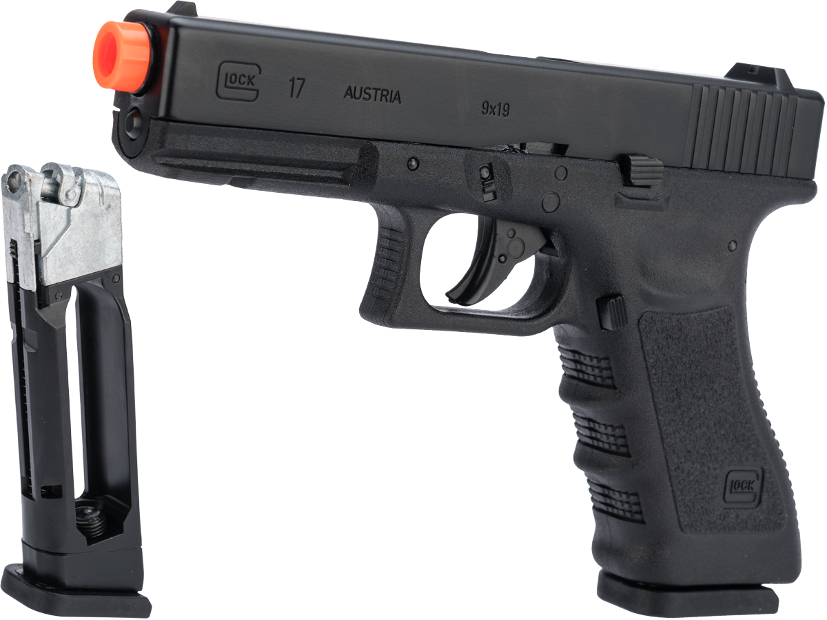 Elite Force Fully Licensed GLOCK 17 Gen.3 CO2 Half Blowback Airsoft Pistol (with Extra Magazine)