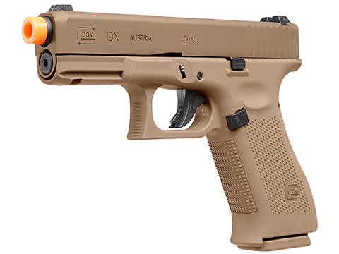 Elite Force Fully Licensed GLOCK 19X Gas Blowback Airsoft Pistol (Type: Green Gas / Tan)