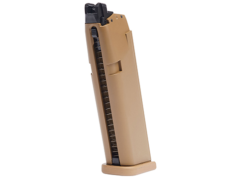Elite Force 20rd Magazine for GLOCK Licensed G19X Airsoft GBB Pistols (Color: Tan)