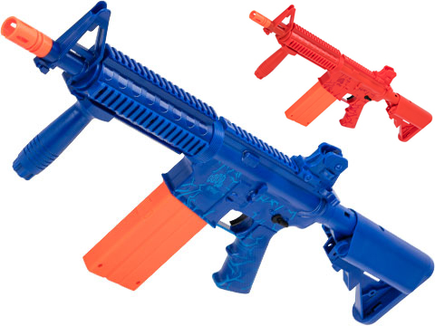 Umarex REKT OPFOUR CO2 Powered Foam Dart Rifle Launcher (Color: Blue)