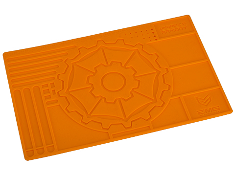 EMG / Umbrella Armory Tech Mat Pro Rubber Work Mat (Color: Alert Orange)