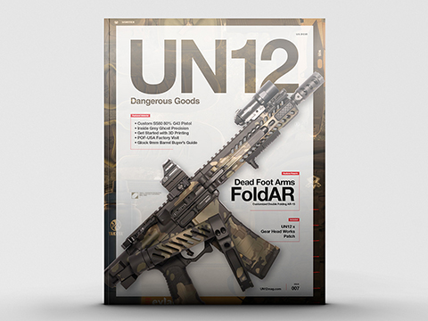 UN12 Magazine with Limited Edition UN12 x Gear Head Works Morale Patch (Issue: 007)