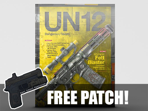 UN12 Magazine with Limited Edition UN12 x Gear Head Works Morale Patch (Issue: 008)