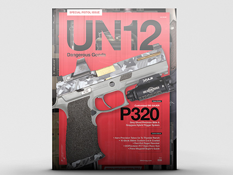 UN12 Magazine with Limited Edition UN12 x Aprilla Design Morale Patch (Issue: 009)