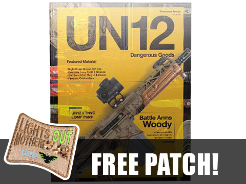 UN12 Magazine with Limited Run UN12 x TNVC LOMF Morale Patch (Issue: 001)