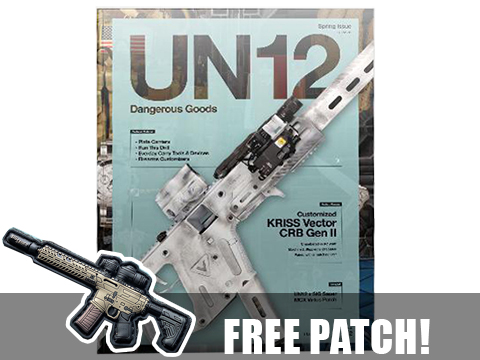 UN12 Magazine with Limited Edition UN12 x SIG Sauer MCX morale patch (Issue: 002)