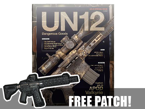 UN12 Magazine with Limited Edition UN12 x Aero Precision ATLAS R-ONE morale patch (Issue: 003)
