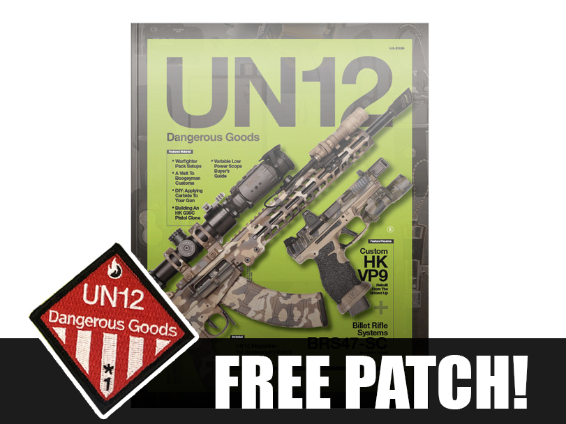 UN12 Magazine with Limited Run UN12 1st Anniversary Morale Patch (Issue: 005)