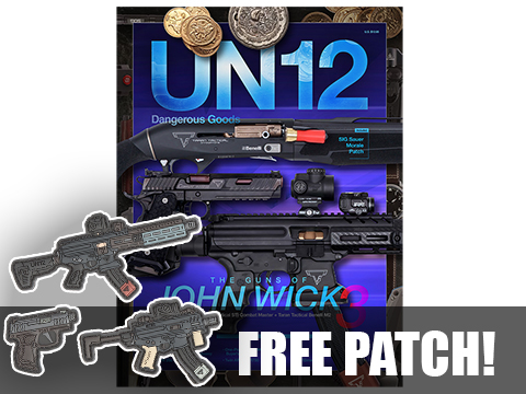 UN12 Magazine with Limited Edition John Wick 3 Gun Morale Patch (Issue: 006)