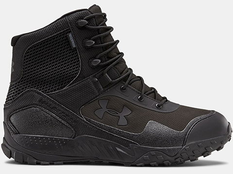 Under Armour Men's UA Valsetz RTS 1.5 Tactical Waterproof Boots - Black (Size: 10)