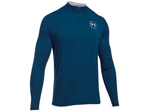 Under Armour UA Threadborne 1/4 Zip Long Sleep (Color: Blackout Navy / X-Large)