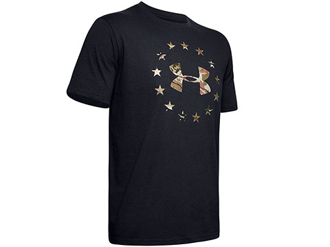Under Armour Men's UA Freedom Camo Logo T-Shirt