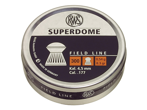 RWS Hobby Superdome .177 cal. Pellets - 300 Count