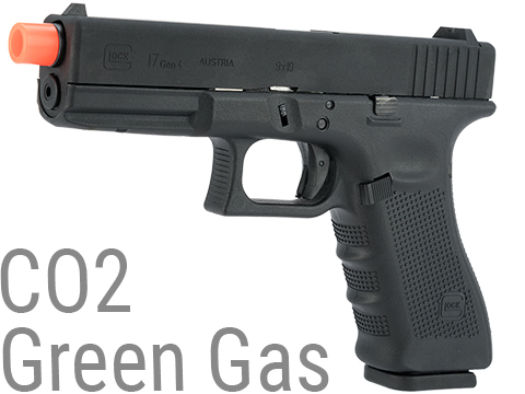 Elite Force Fully Licensed GLOCK 17 Gen.4 Gas Blowback Airsoft Pistol (Type: Green Gas)