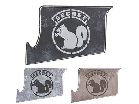 US NightVision Rapid Wraps™ Mil Spec Monkey Magwell Slaps - Secret Squirrel (Color: Gray/Black)