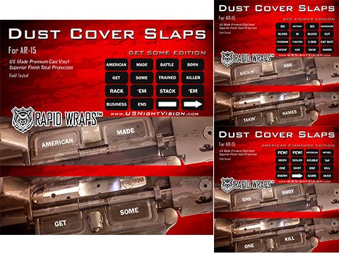 US NightVision Rapid Wraps™ Dust Cover Slaps - AR-15