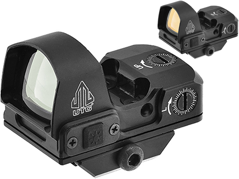 UTG Micro Reflex Sight with 4 MOA Single Dot