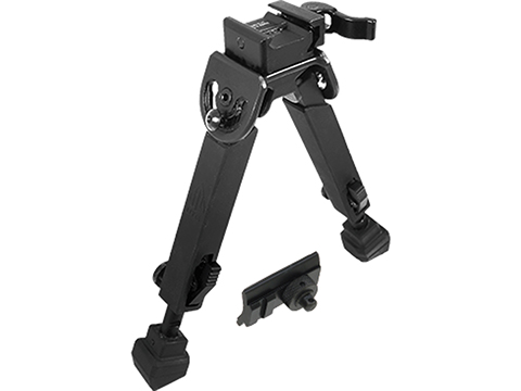 UTG Rubber Armored Bipod w/ QD Mount