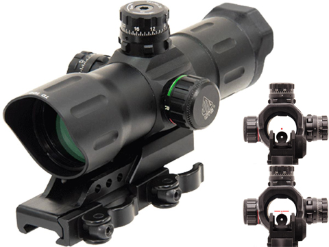 UTG 6 ITA Red/Green CQB Dot Sight with Offset QD Mount