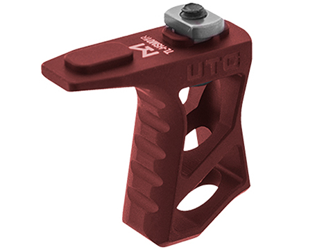 UTG Ultra Slim Handstop (Color: Red / M-LOK)