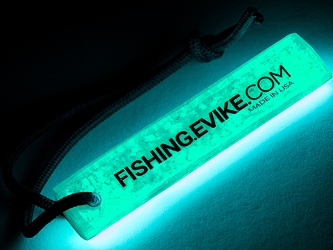 Evike.Com Infinity Stick Lifetime Reusable Glowstick (Style: Evike.com Fishing / Blue)