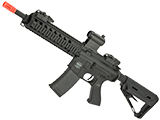 Battle Machine M4 Mod-M CQB V2 Airsoft AEG Rifle by Valken (Color: Black)