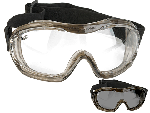 Valken V-Tac Alpha Tactical Goggles (Color: Clear Lens)