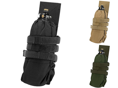 Valken Tactical V-TAC MOLLE Universal HPA Tank Pouch (Color: Black)