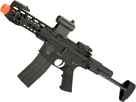 Alloy Series PDW Full Metal M4 Airsoft AEG Rifle by Valken