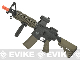 Battle Machine M4 CQB Airsoft AEG by Valken - Black / Desert