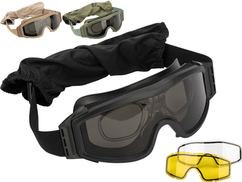 Valken V-TAC Tango Thermal Lens Goggles (Color: Black)