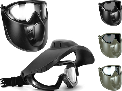 Valken VSM Switch Therm Goggles w/ Flip Down Face Shield