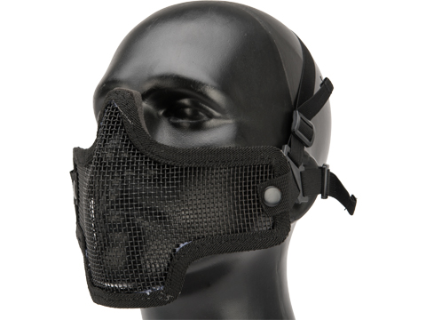 Valken Kilo 2G Mesh Half Face Mask (Color: Black)