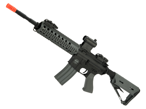 Battle Machine M4 Mod-L V2.0 Airsoft AEG Rifle by Valken (Color: Grey)