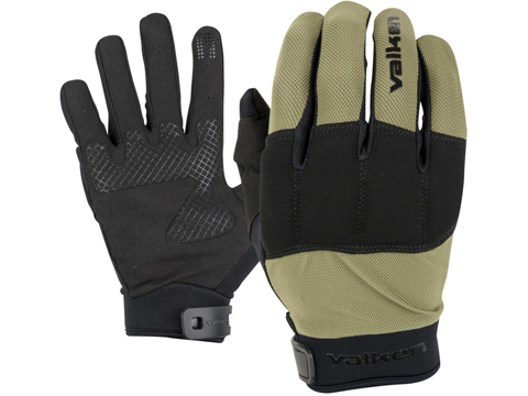 Valken Kilo Tactical Lightweight Padded Gloves (Color: OD Green / Small)