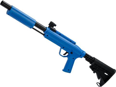 Valken GOTCHA Shotgun Paintball Marker (Color: Blue / Tactical)