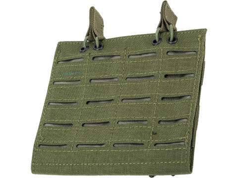 Valken Laser Cut Double Rifle Magazine Pouch (Color: OD Green)