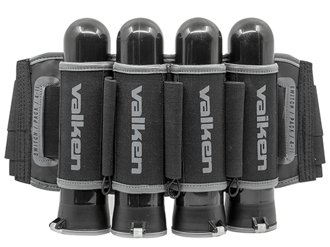 Valken Switch 4-11 Paintball Harness (Color: Black)