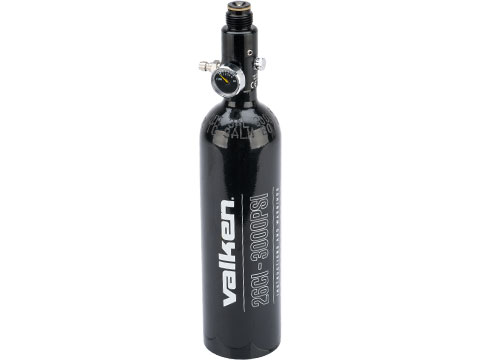 Valken Paintball 26ci/3000 HPA Air Tank with DOT-TC