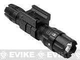 NcStar / VISM Pro-Series 250 Lumen Flashlight with Weaver / 20mm Rail Mount