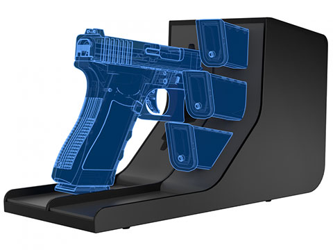 Vaultek MPR-4 Universal Single Pistol and Magazine Rack