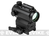 NcStar Micro Red & Blue Dot Scope with Integrated Green Laser - Black