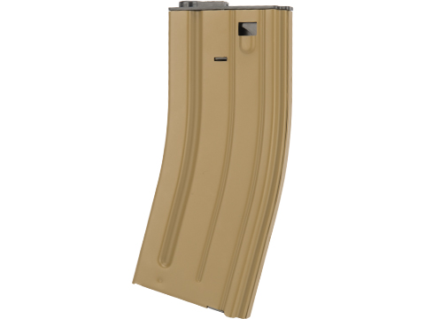 VFC Steel Stamped GI Magazine for SCAR M4 M16 Series Airsoft AEG Rifles (Type: 120rd Mid-Cap / Dark Earth)