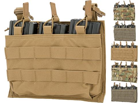 Mayflower by Velocity Systems Triple 5.56 Magazine Swift-Clip� Placard / Pouch (Color: Multicam)