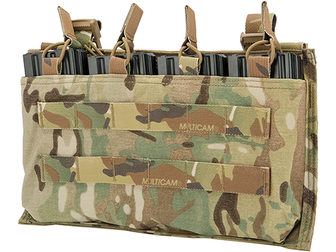 Mayflower by Velocity Systems Quad 5.56 Magazine Swift-Clip™ Placard / Pouch (Color: Multicam)