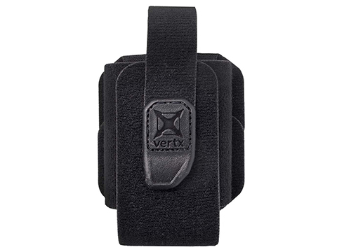 VERTX Tactigami MAK LOK Velcro Storage Pouch (Color: Black)
