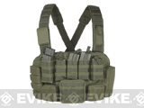 Voodoo Tactical MOLLE Tactical Chest Rig (Color: OD Green)