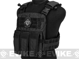 TMC 2125 High Speed Low Profile Plate Carrier - Black