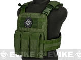 TMC 2125 High Speed Low Profile Plate Carrier - OD Green